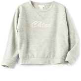 Chloé Kids Logo Sweatshirt