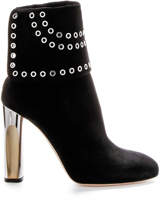 Alexander McQueen Eyelet Detail Ankle Boot