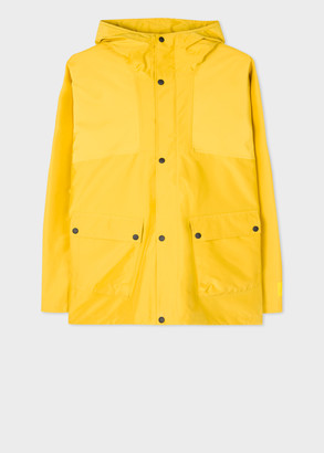 Men's Yellow Recycled-Polyester Waterproof Jacket