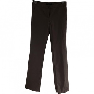 Theory Brown Wool Trousers