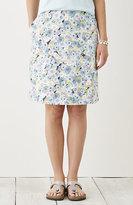 J. Jill Printed Easy Knit Skirt