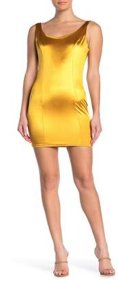 Little Miss Naked Wardrobe Satin Mini Dress