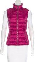 Burberry Zip-Front Puffer Vest