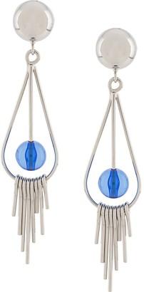 Marni Pendant Detail Clip-On Earrings
