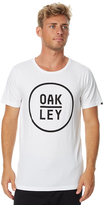 Oakley Straight Up Mens Tee White