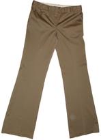 BCBGMAXAZRIA Khaki Cotton Trousers
