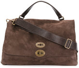 Zanellato double lock messenger bag