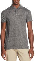 Scotch & Soda Linen Regular Fit Short Sleeve Polo Shirt