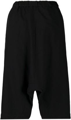 COMME DES GARÇONS GIRL Dropped-Crotch Knee Length Shorts