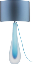 Heathfield & Co Pelorus Table Lamp Frost Turquoise - Silk