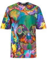 Christopher Kane Psychedelic Flower Printed T-shirt