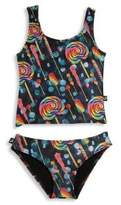 Terez Toddler's & Little Girl's Two-Piece Sports Tankini Set