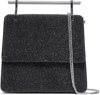 M2Malletier Mini Collectionneuse Metallic Stingray-effect Leather Shoulder Bag