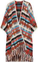 Missoni Checked Knitted Wrap - Ivory