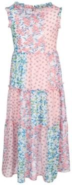 Bonnie Jean Little Girls Patchwork Maxi Dress