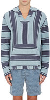 Faherty Men's Baja Striped Cotton Hoodie
