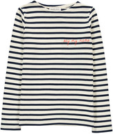 MAISON LABICHE Embroidered Say My Name Smock