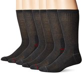 Nautica Men's 6 Pack Athletic Crew Sock