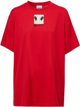 Burberry Photograph Print Oversized T-Shirt