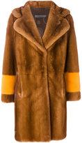 Simonetta Ravizza Oreg coat - women - Silk/Mink Fur - 46