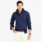 J.Crew Summit fleece half-zip sweatshirt in ultramarine