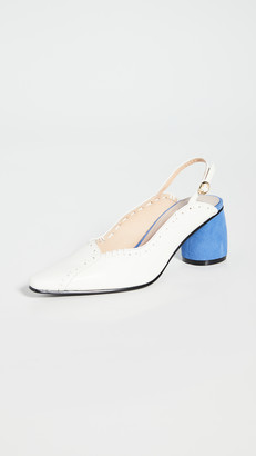 Reike Nen Mixed Turnover Slingbacks