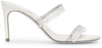 Rene Caovilla 80 Mm Crystal-Embellished Sandals