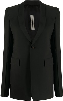 Rick Owens Tailored Single-Breasted Blazer