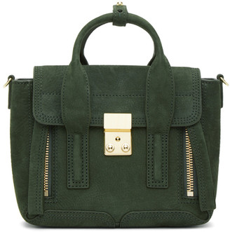 3.1 Phillip Lim Green Mini Pashli Bag