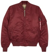 Alpha Industries Ma-1 Claret Shell Bomber Jacket