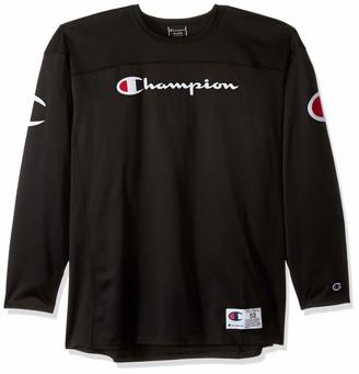 Champion Life Men's Long-Sleeve Football Jersey T-Shirt