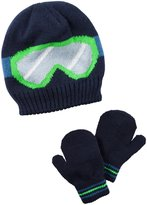 Carter's Hats and Glove Sets - Navy - 4/8