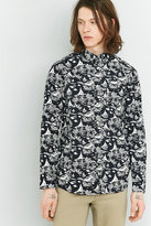 Wemoto Dark Navy Printed Shirt