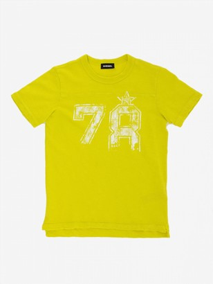 Diesel Short-sleeved T-shirt With 78 Print