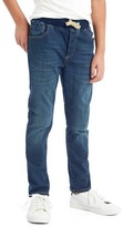Gap High stretch rip & repair slim jeans