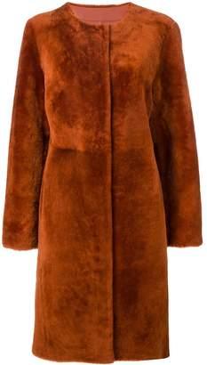 Luisa Cerano concealed fastening coat