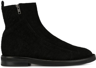 Ann Demeulemeester Zip Up Ankle Boots