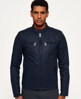 Superdry Leading Biker Wax Jacket