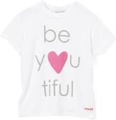Peace Love World White 'Beyoutiful' Hi-Low Top - Girls