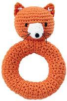 Baby Essentials Fox Animal Knit Rattle