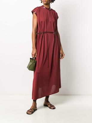 Sies Marjan Contrast Trim Dress