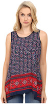 Christin Michaels Luvleen Printed Top