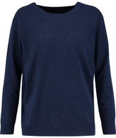 Sandro Open-Back Wool And Cashmere-Blend Sweater