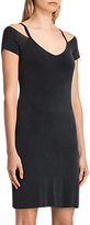 AllSaints Boast Dress, Washed Black