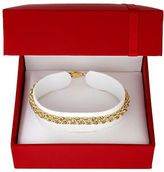 Lord & Taylor 14K Yellow Gold Twisted Rope Bracelet