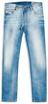 Diesel Boys' Skinny Blasted Stretch Jeans - Sizes 8-16