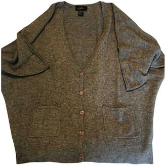 Non Signã© / Unsigned Manche ballon Grey Cashmere Knitwear