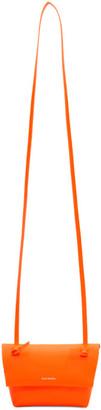 Acne Studios Orange Mini Purse Bag