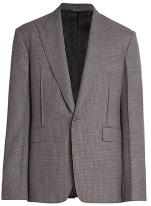 Givenchy Virgin Wool Suit Jacket
