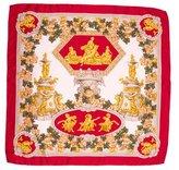 Loewe Floral Silk Scarf